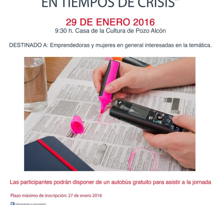 """JORNADA  """"CÓMO ENCONTRAR EMPLEO EN TIEMPOS DE CRISIS"""""""