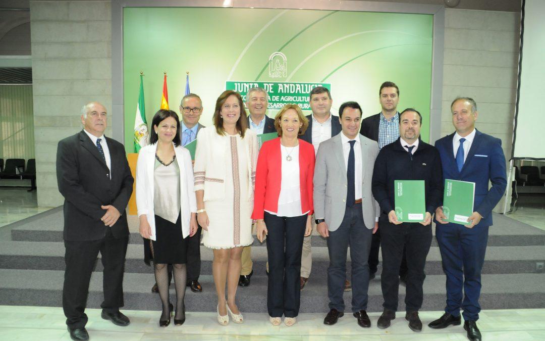 FIRMA CONVENIO COLABORACIÓN GDR´S ANDALUCES-CONSEJERÍA DE AGRICULTURA, PESCA Y DESARROLLO RURAL para la gestión del programa LEADER de Andalucía 2014-2020