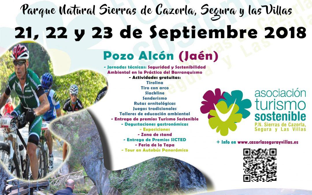 III FERIA TURISMO SOSTENIBLE PARQUE NATURAL SIERRAS DE CAZORLA, SEGURA Y LAS VILLAS
