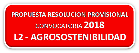 Publicada la PROPUESTA PROVISIONAL de ayudas LEADER – CONVOCATORIA 2018 – LÍNEA 2 – AGROSOSTENIBILIDAD–LOCALÍZATE y AMBIENTA